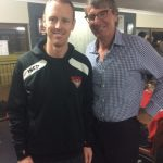 Barry Breen Visits North Shore Training