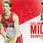 Congratulations Callum Mills – AFL Rising Star Winner