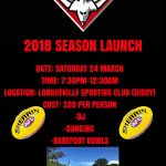 Season Launch – Book Your Place Now