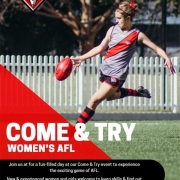 Womens AFL Come and try